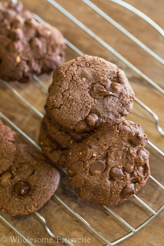 Wholesome Patisserie's Dark Chocolate Chip Cookies-3