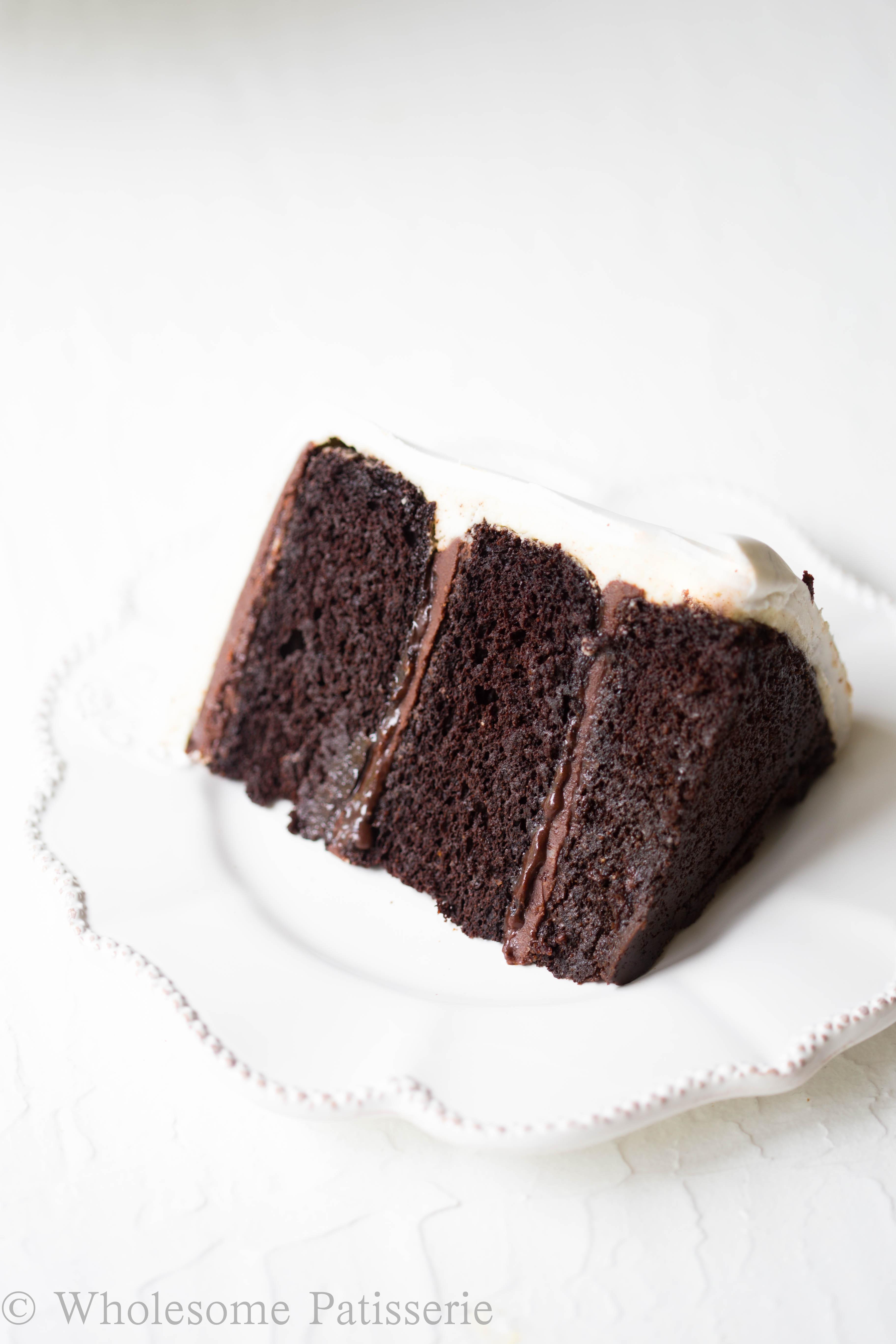 Chocolate Marble Fondant Cake