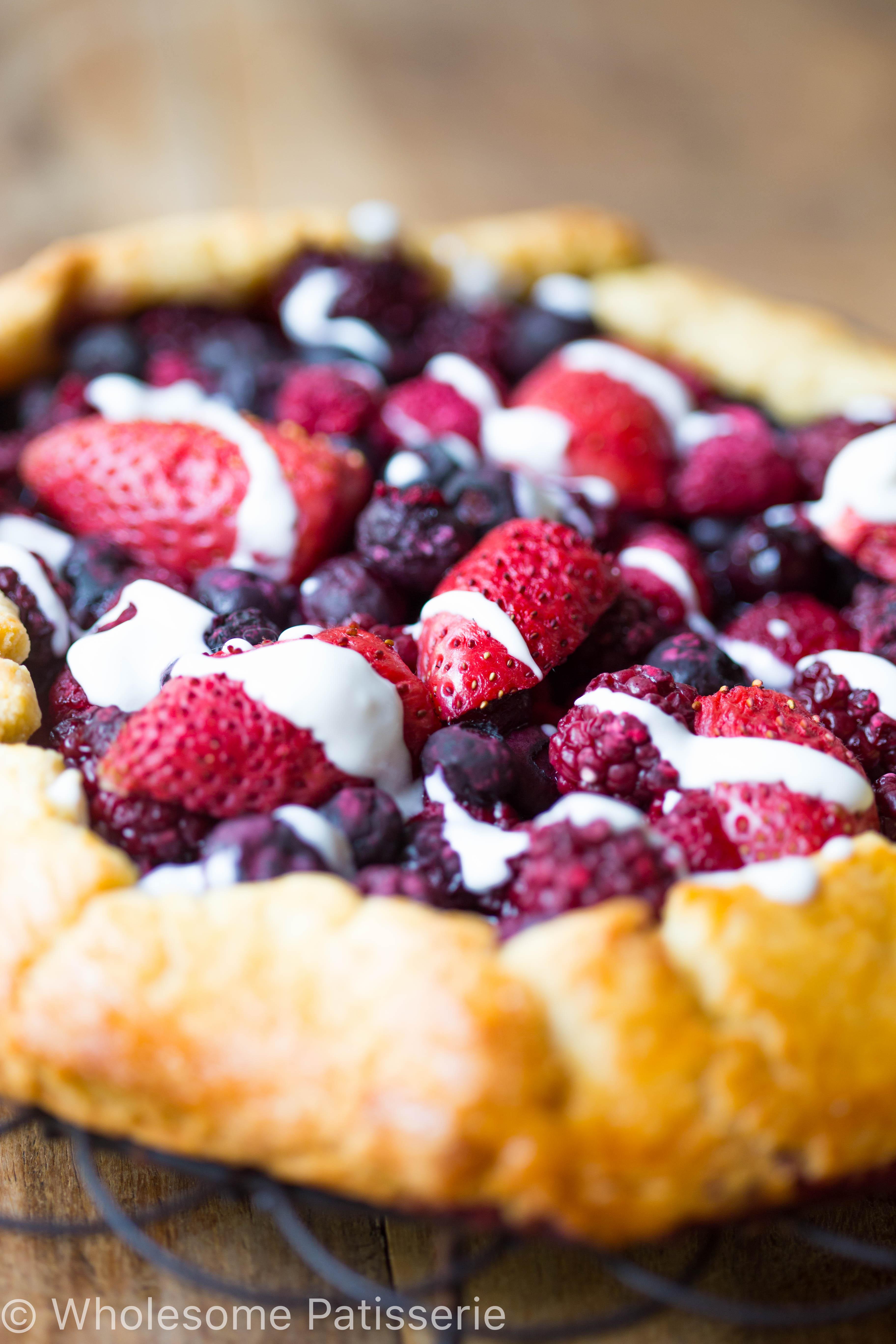 berries-cream-galette-gluten-free-galette-healthy-organic
