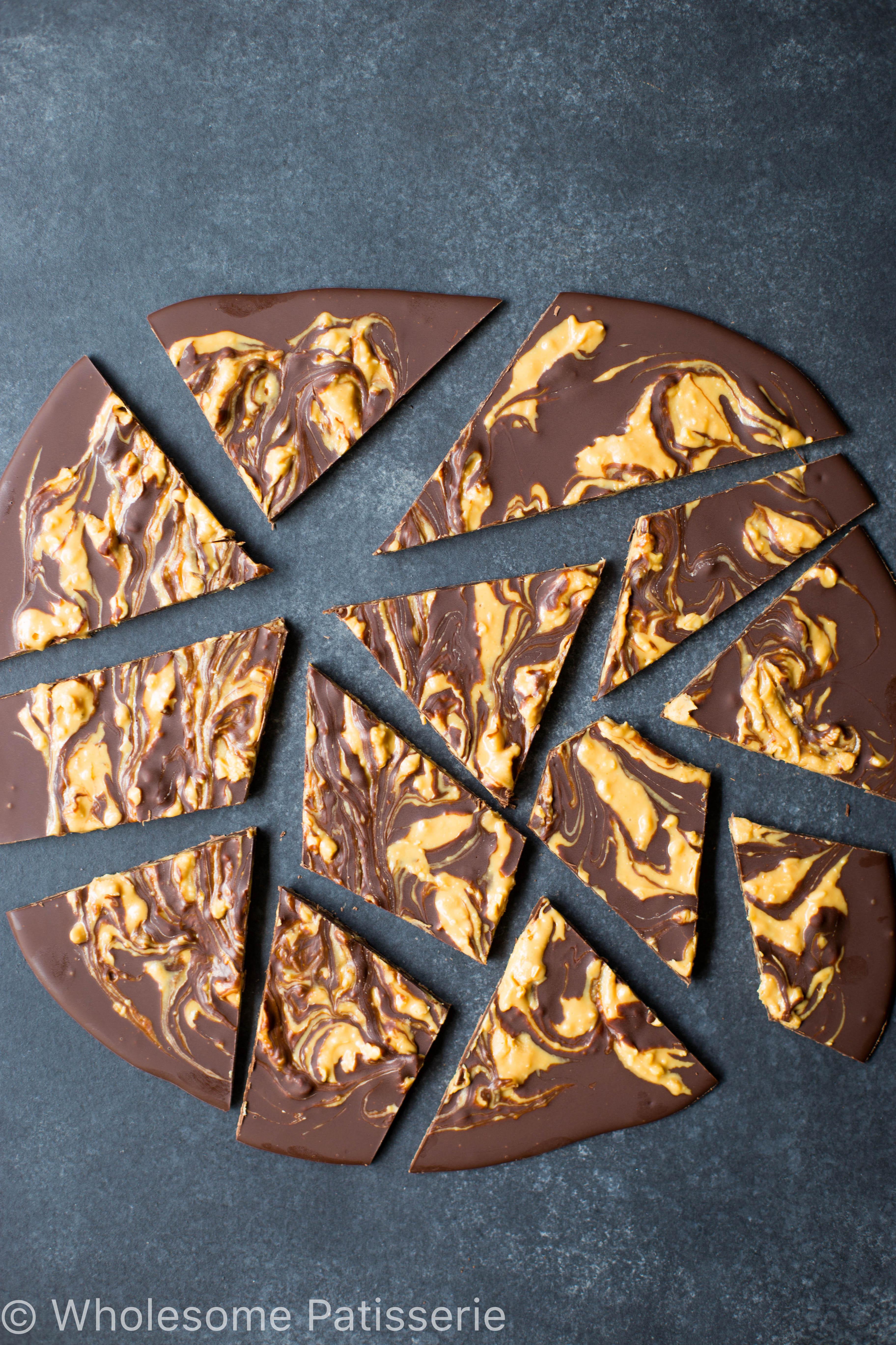 chocolate-peanut-butter-swirl-bark-easy-gluten-free-vegan-mayvers
