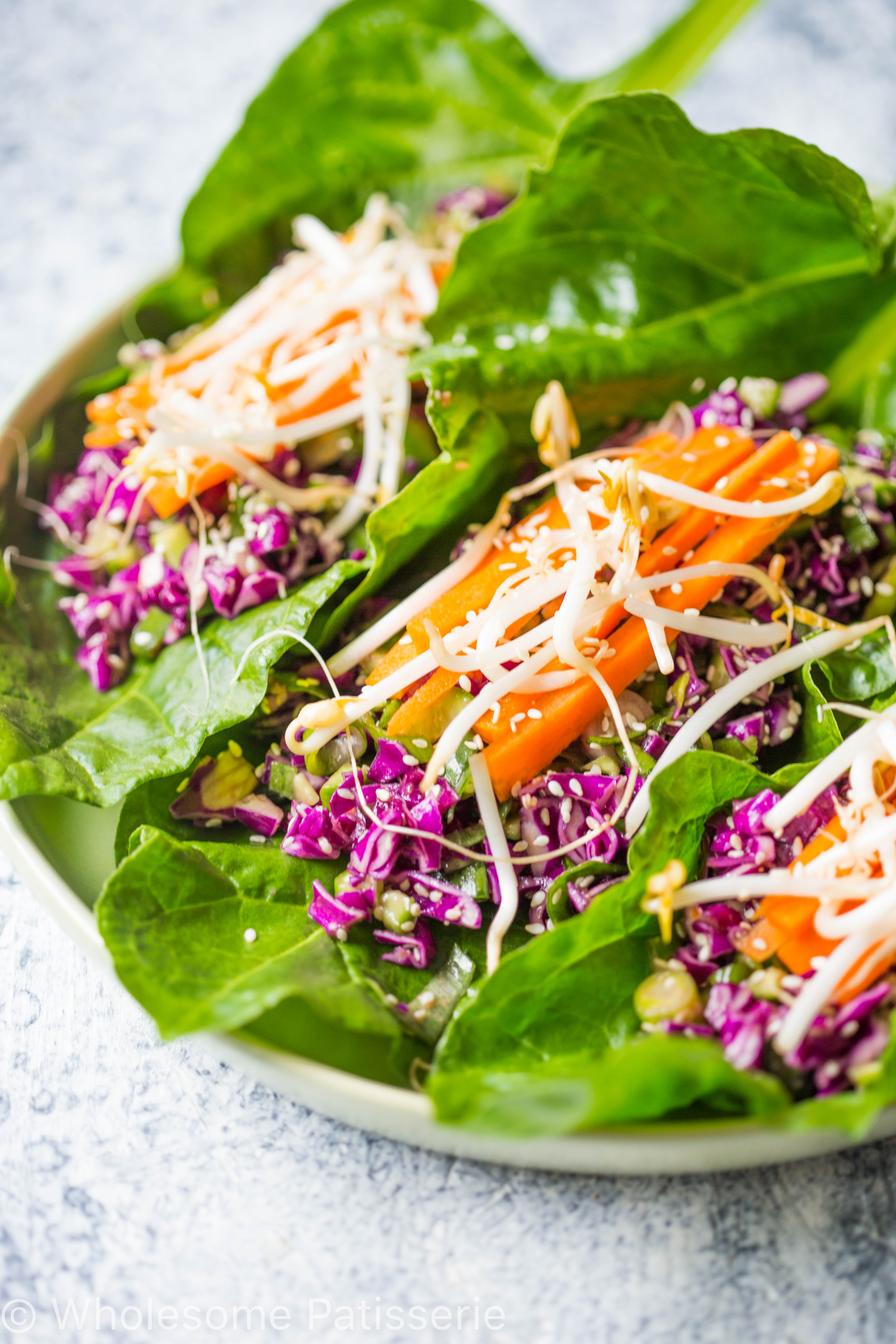 vegan-asian-lettuce-wraps-spinach-gluten-free-amazing-easy-raw