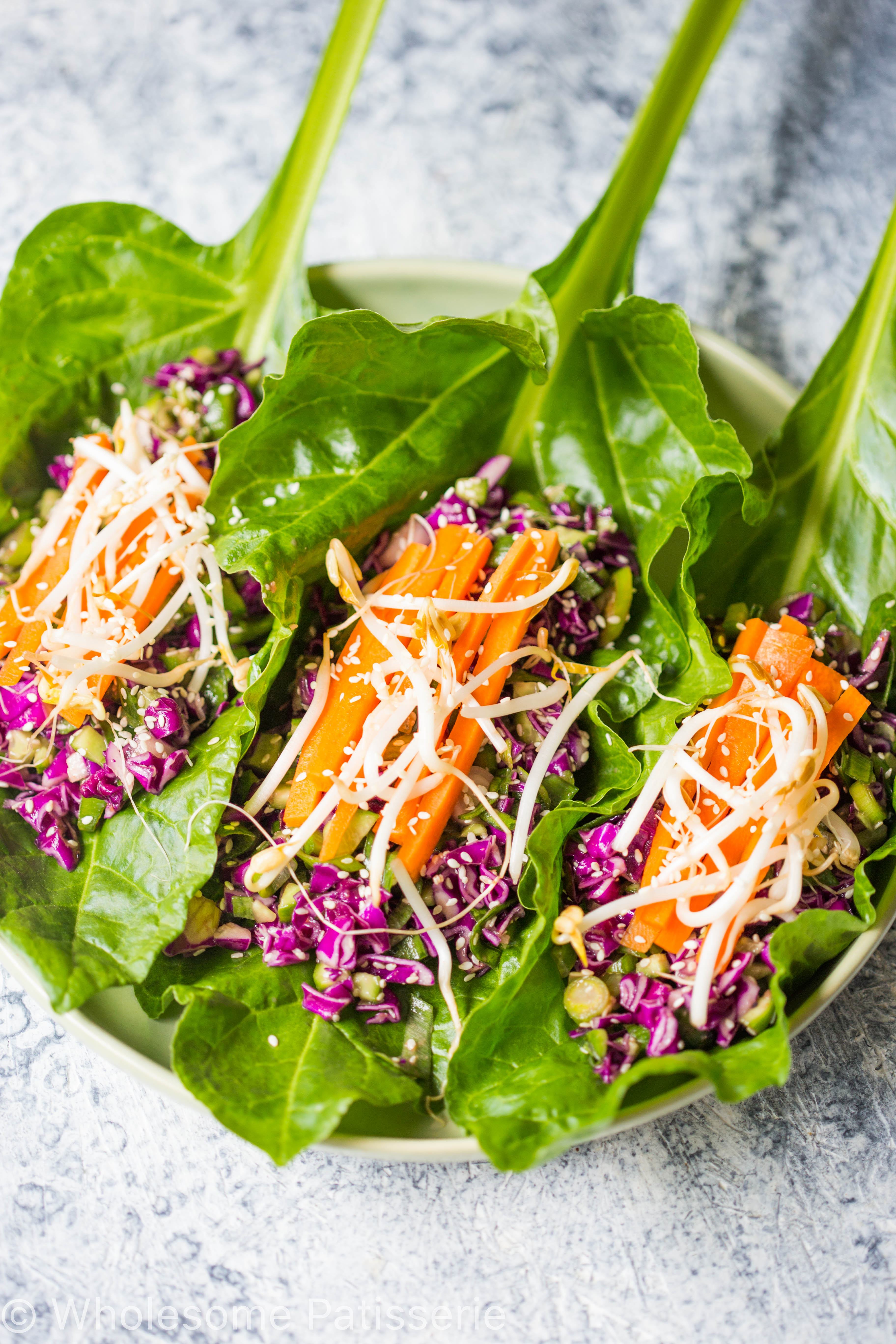 vegan-asian-lettuce-wraps-spinach-gluten-free-amazing-easy