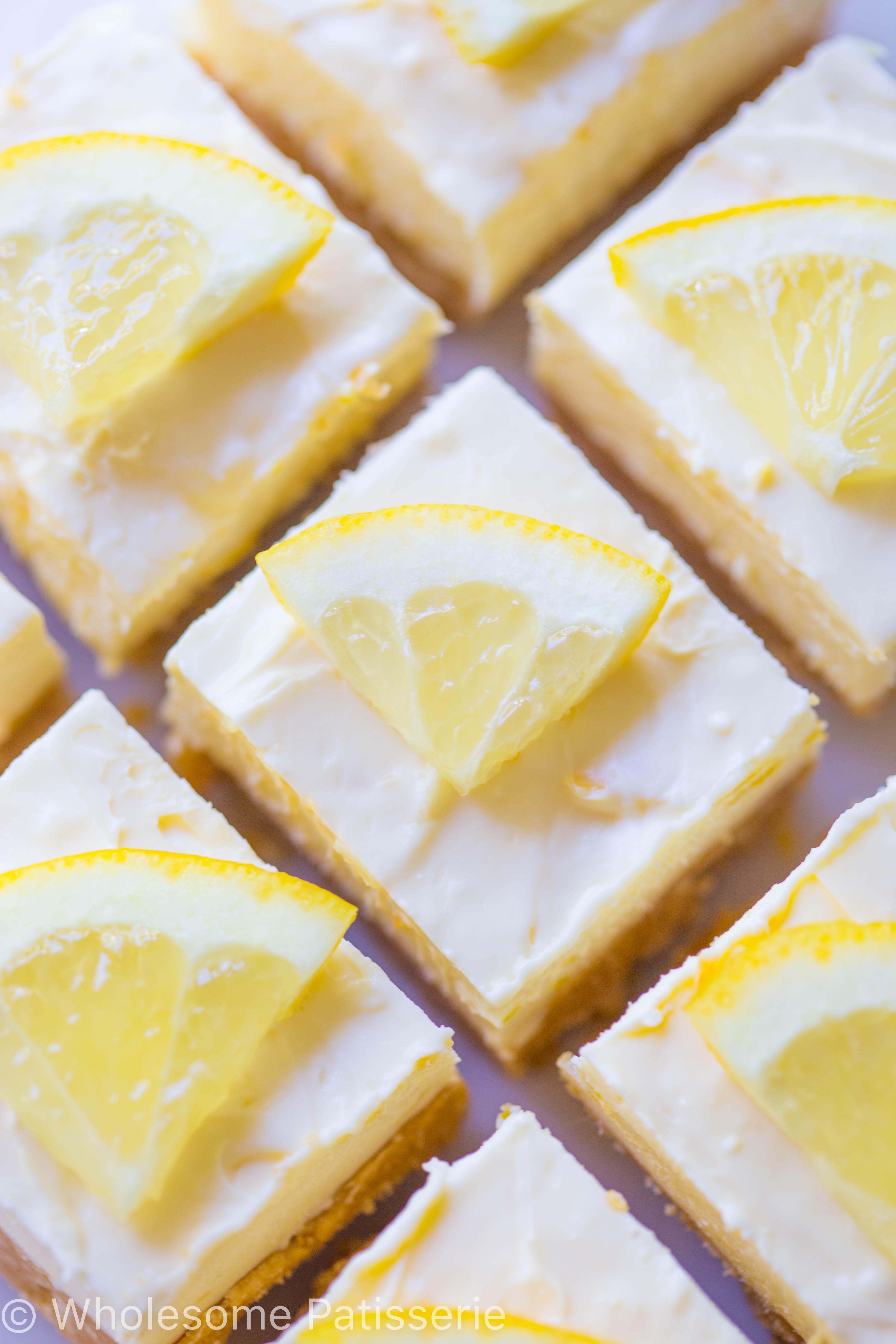 no-bake-lemon-cheesecake-slice-gluten-free-delicious-amazing-cake-cheesecake-bars