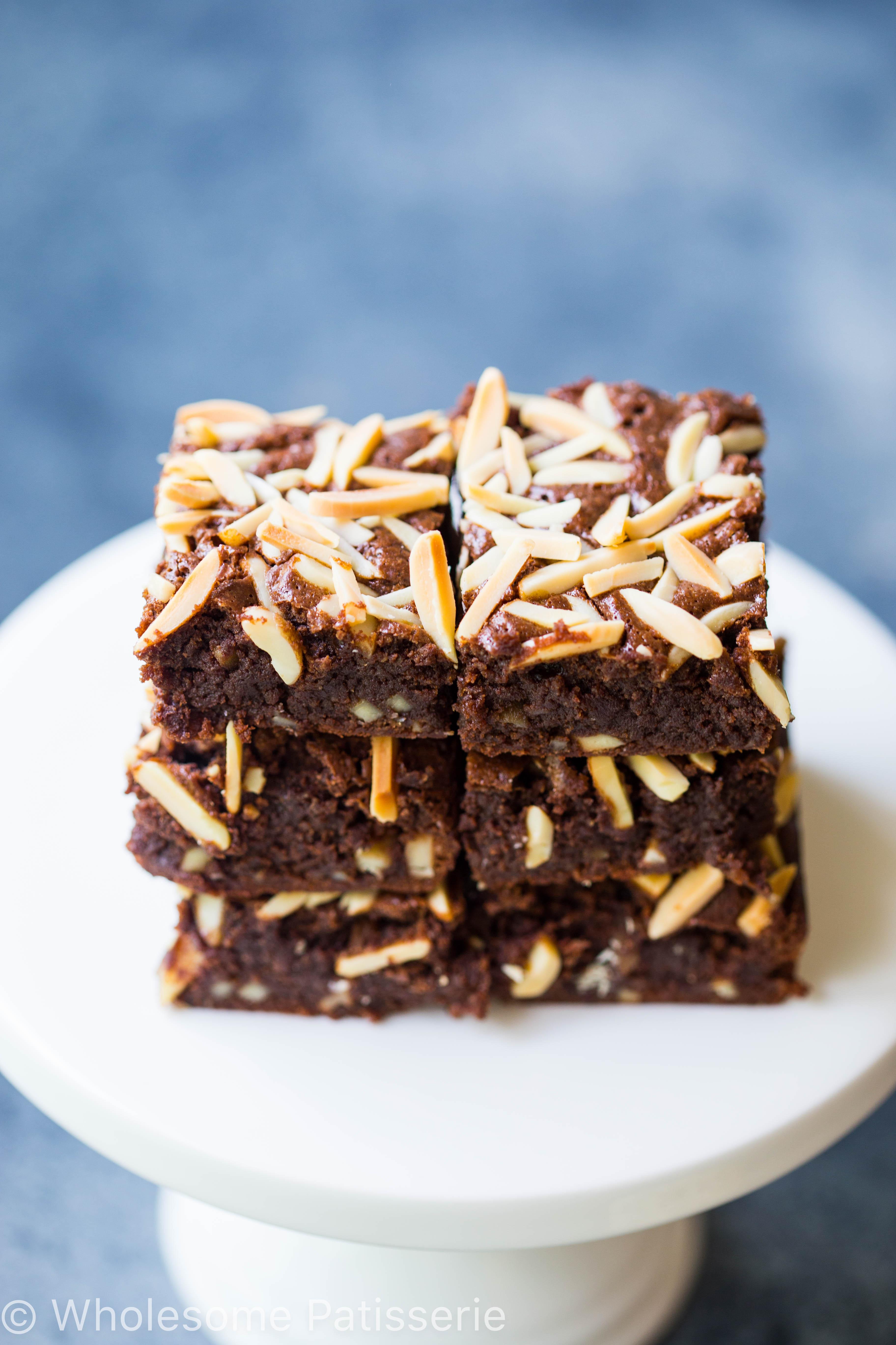 Slivered Almond Brownies