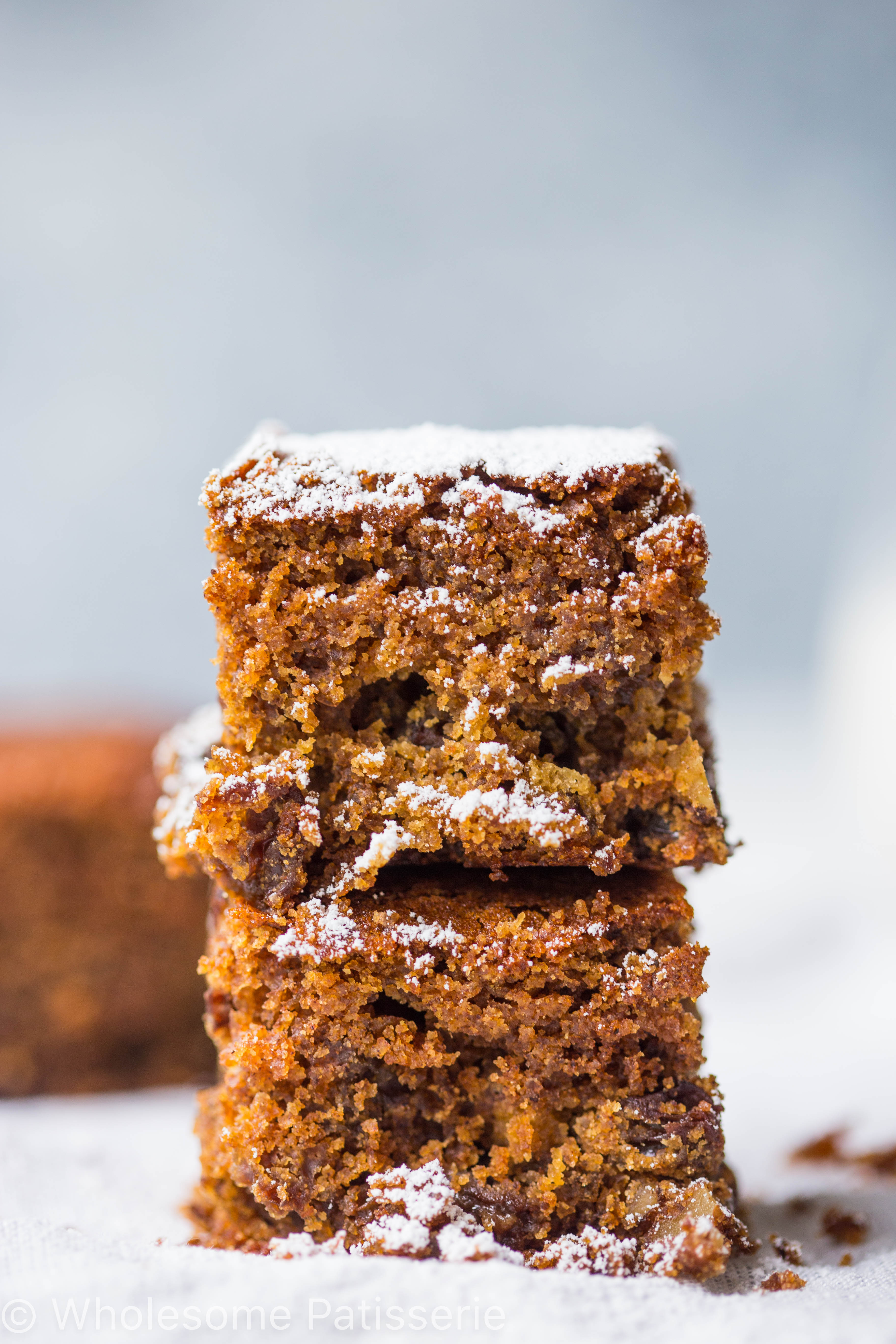 Raisin Walnut Cake