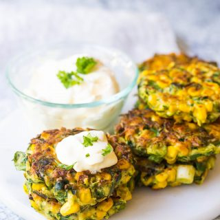 sweet-corn-zucchini-fritters-gluten-free-vegan-vegetarian-side-dish-delicious-dinner-healthy
