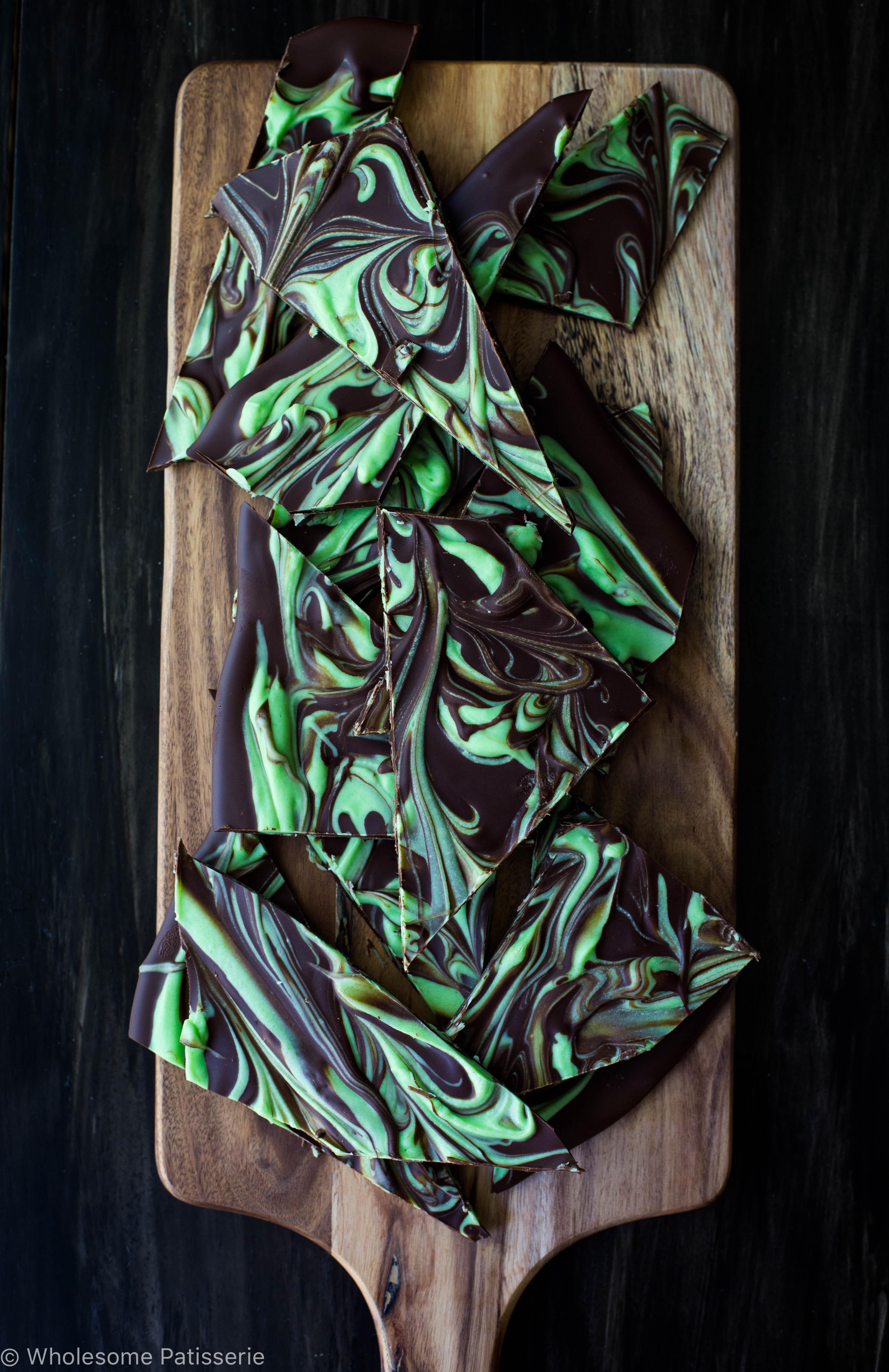 Double Chocolate Peppermint Bark
