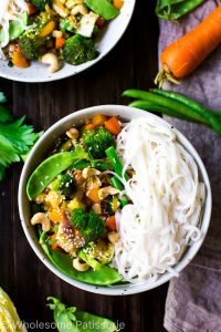 loaded-vegetable-stir-fry-vegan-gluten-free-vegetarian-30-minute-quick-dinner-delicious
