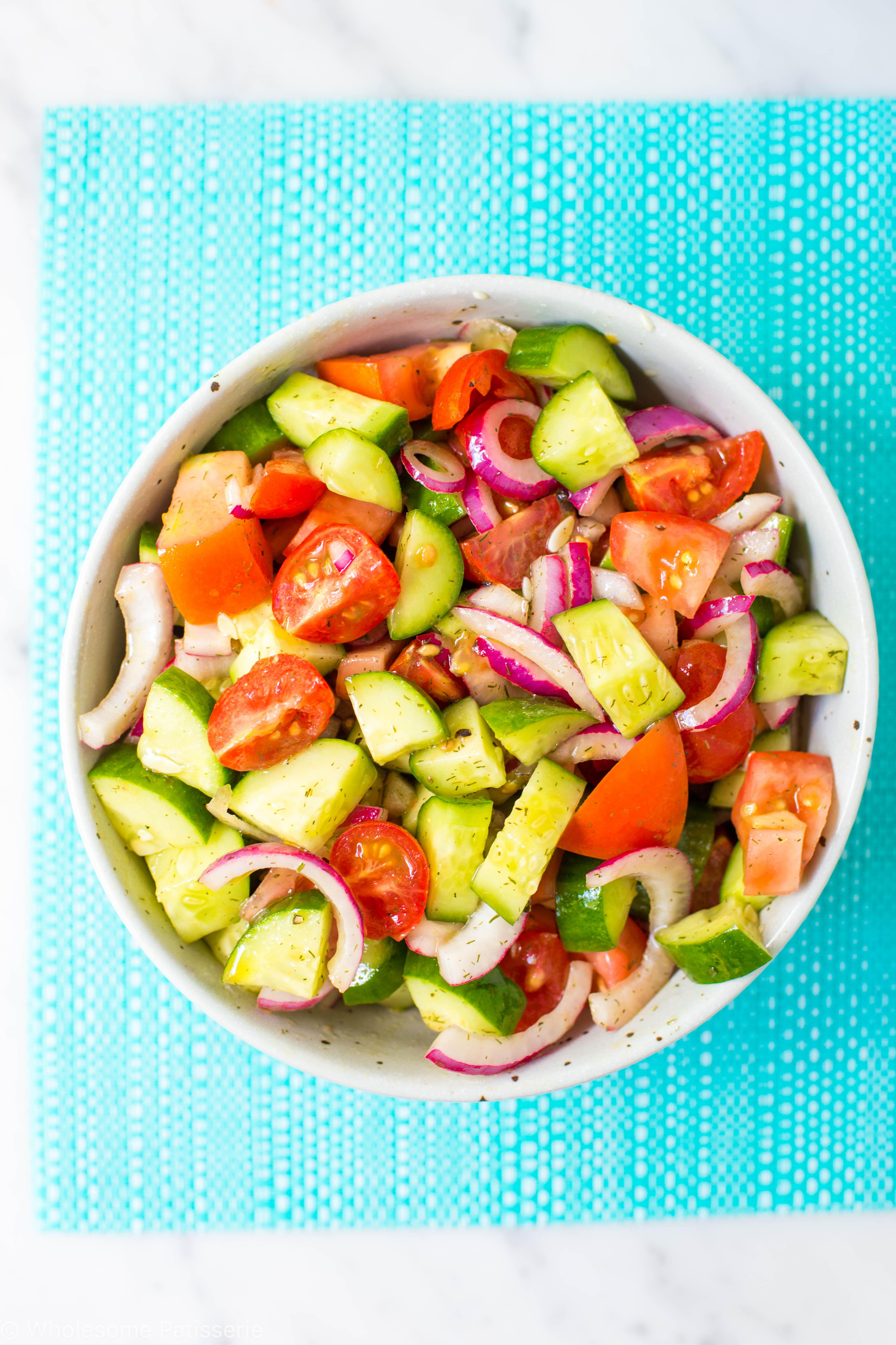 tomato-cucumber-onion-salad-dressing-easy-healthy-vegan-gluten-free-dairy-free-summer