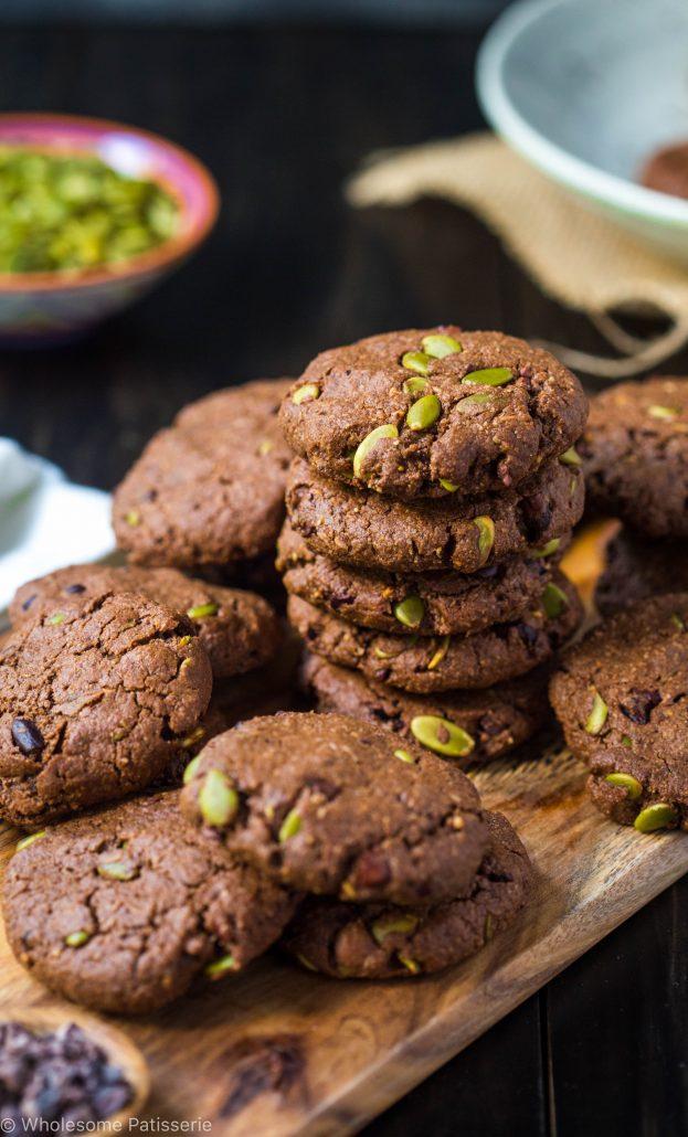 chocolate-pumpkin-seed-cookies-gluten-free-vegan-dairy-free-healthy-delicious