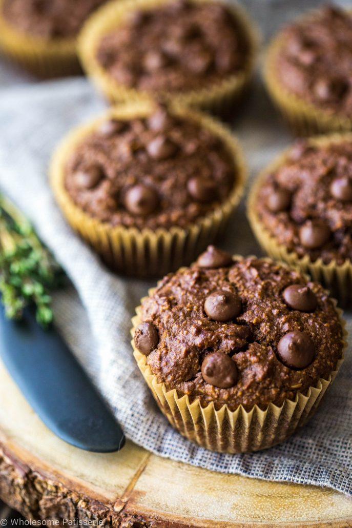 chocolate-chip-blender-muffins-gluten-free-vegan-vegetarian-delicious-easy-simple