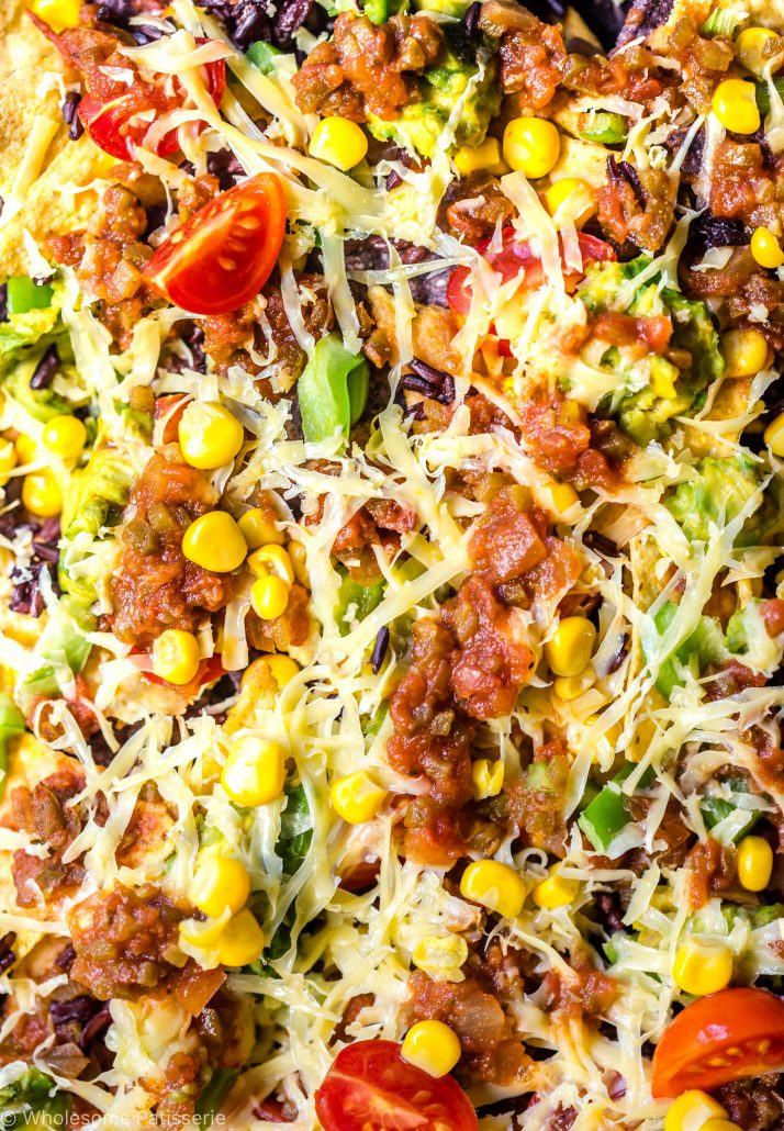 loaded-vegan-nachos-mexican-corn-chips-delicious-vegetarian-easy-weekend-corn-chips