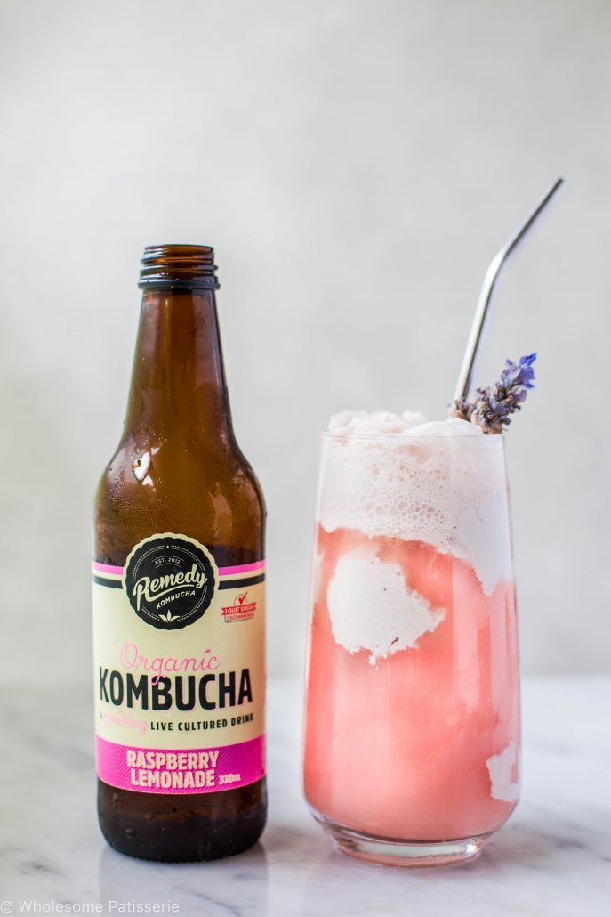 raspberry-lemonade-kombucha-spider-healthy-beverage-ice-cream-float-dairy-free-coke-float