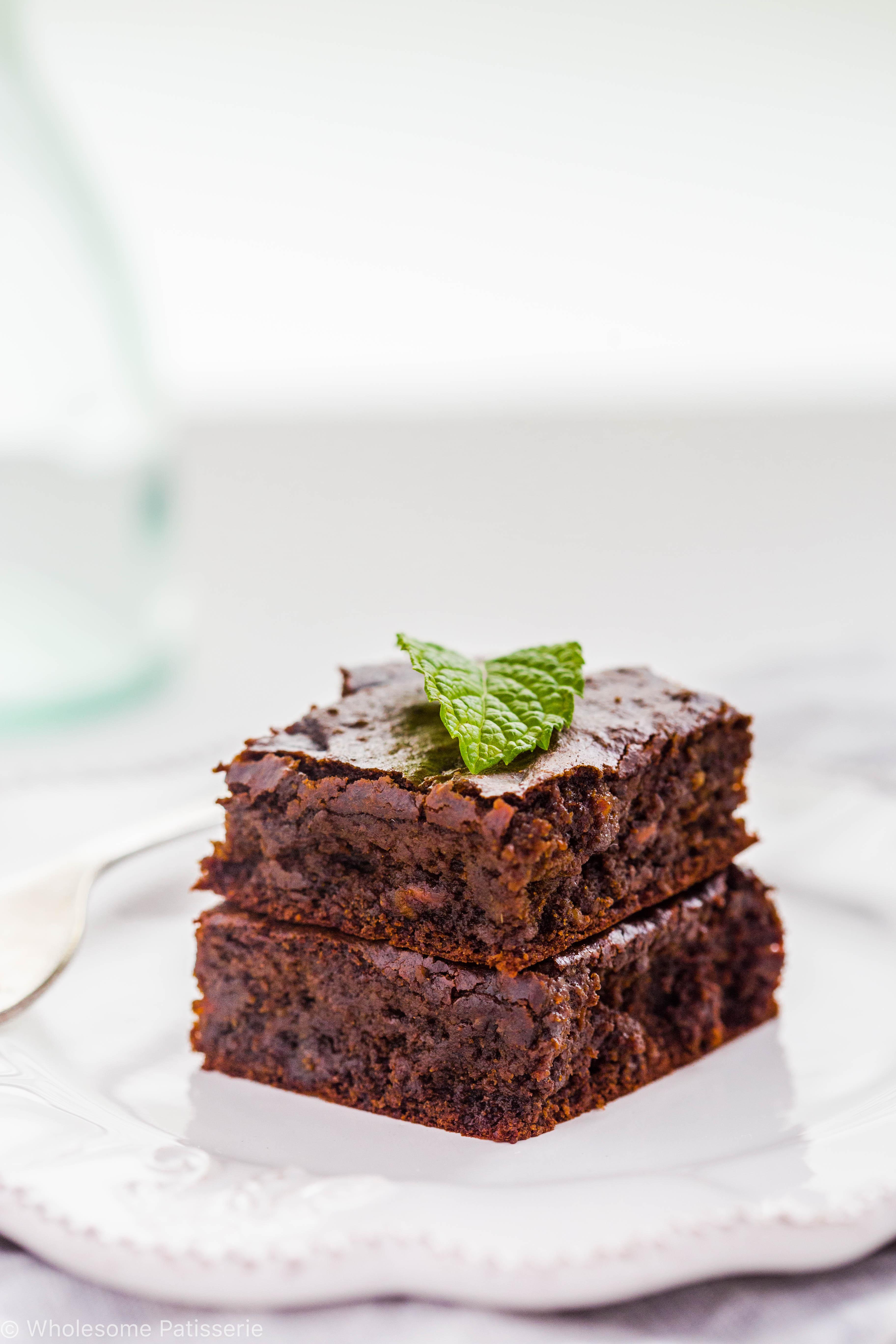 30 Minute Chocolate Mint Brownies