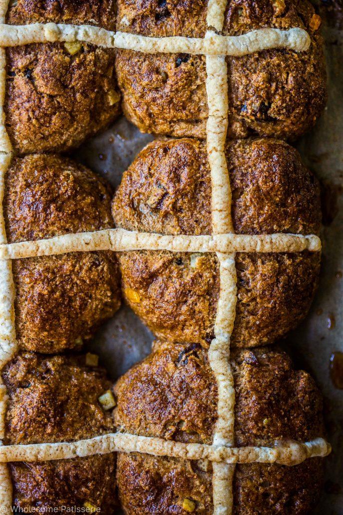 gluten-free-hot-cross-buns-dairy-free-easter-homemade-spice-fruit