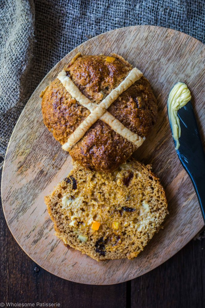 gluten-free-hot-cross-buns-dairy-free-easter-homemade-spice-fruit-sultanas