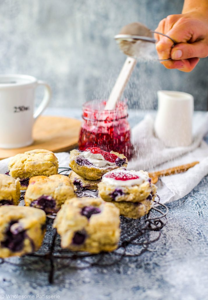 blueberry-scones-gluten-free-sugar-free-dairy-free-vegan-egg-free-scones-easy-delicious-coconut