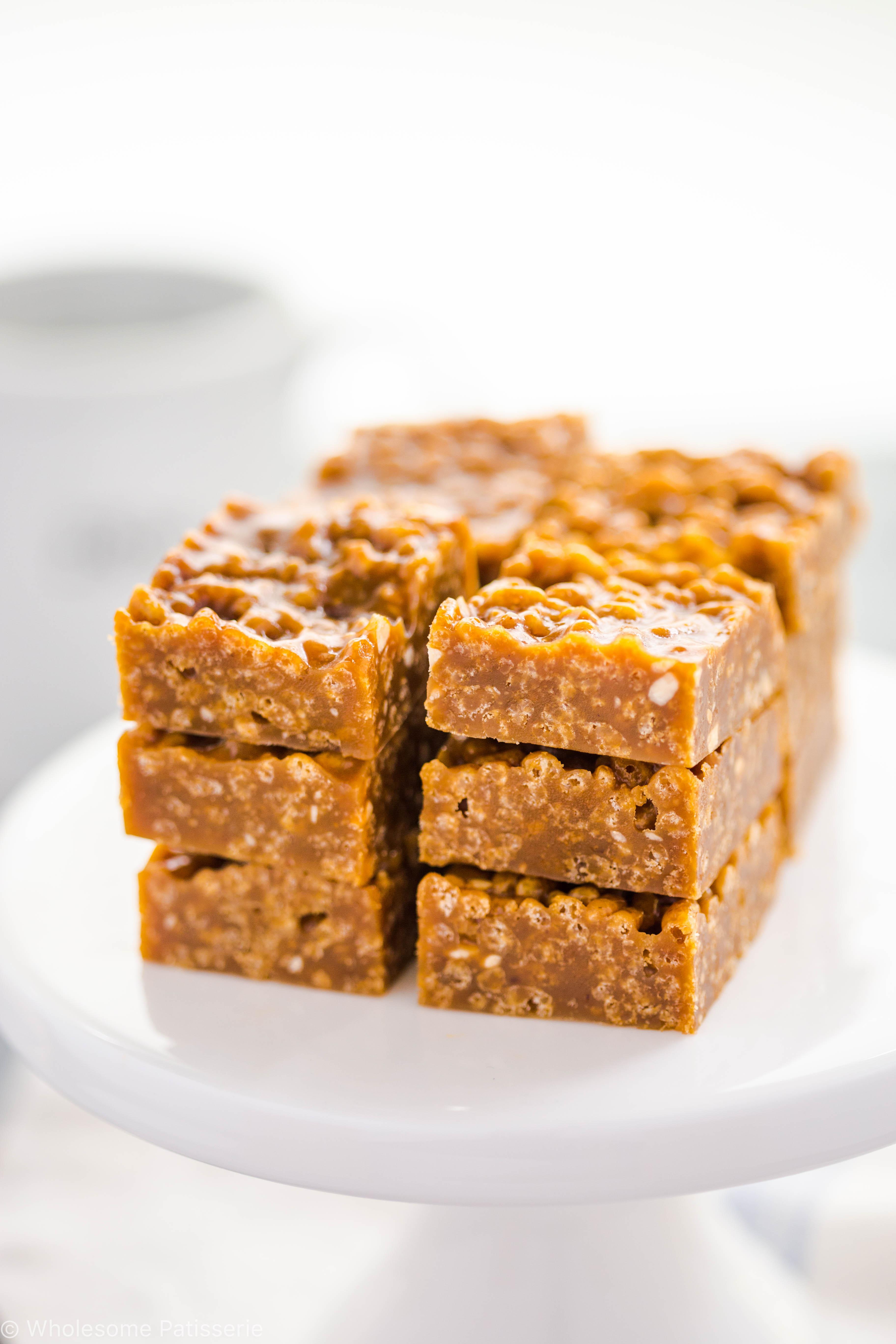 caramel-fudge-squares-delicous-gluten-free-easy-kids-vegetarian-slice-recipe-simple