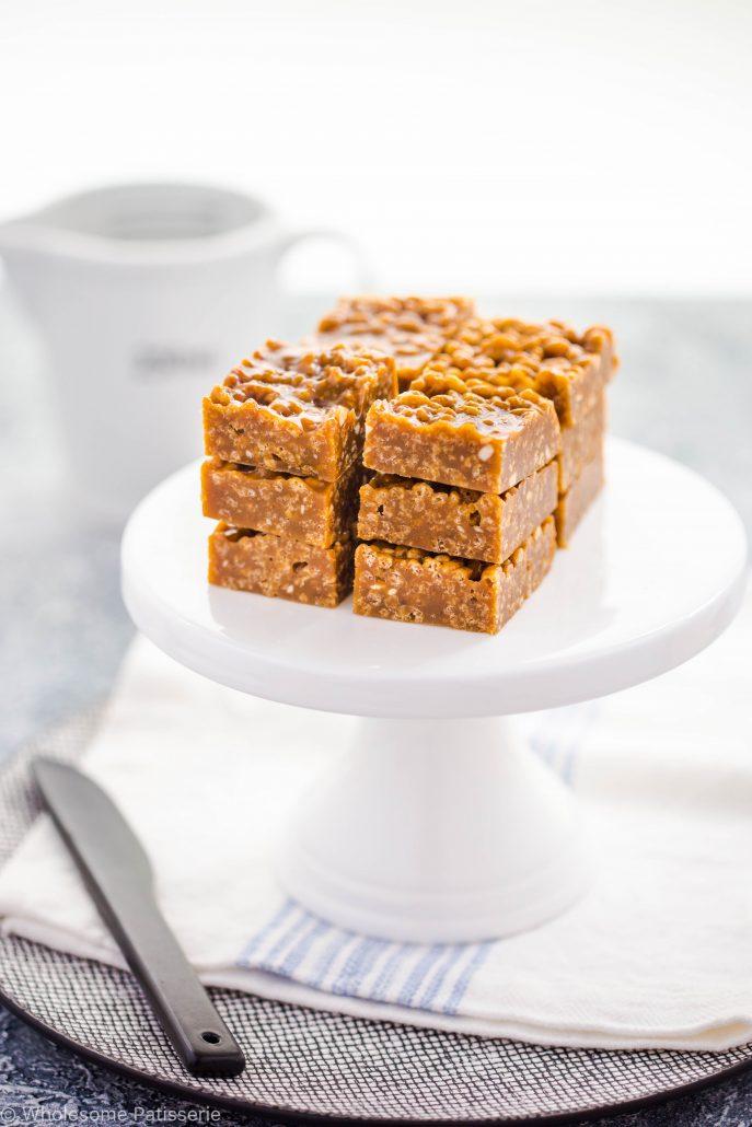 caramel-fudge-squares-delicous-gluten-free-easy-kids-vegetarian-slice-recipe-snack