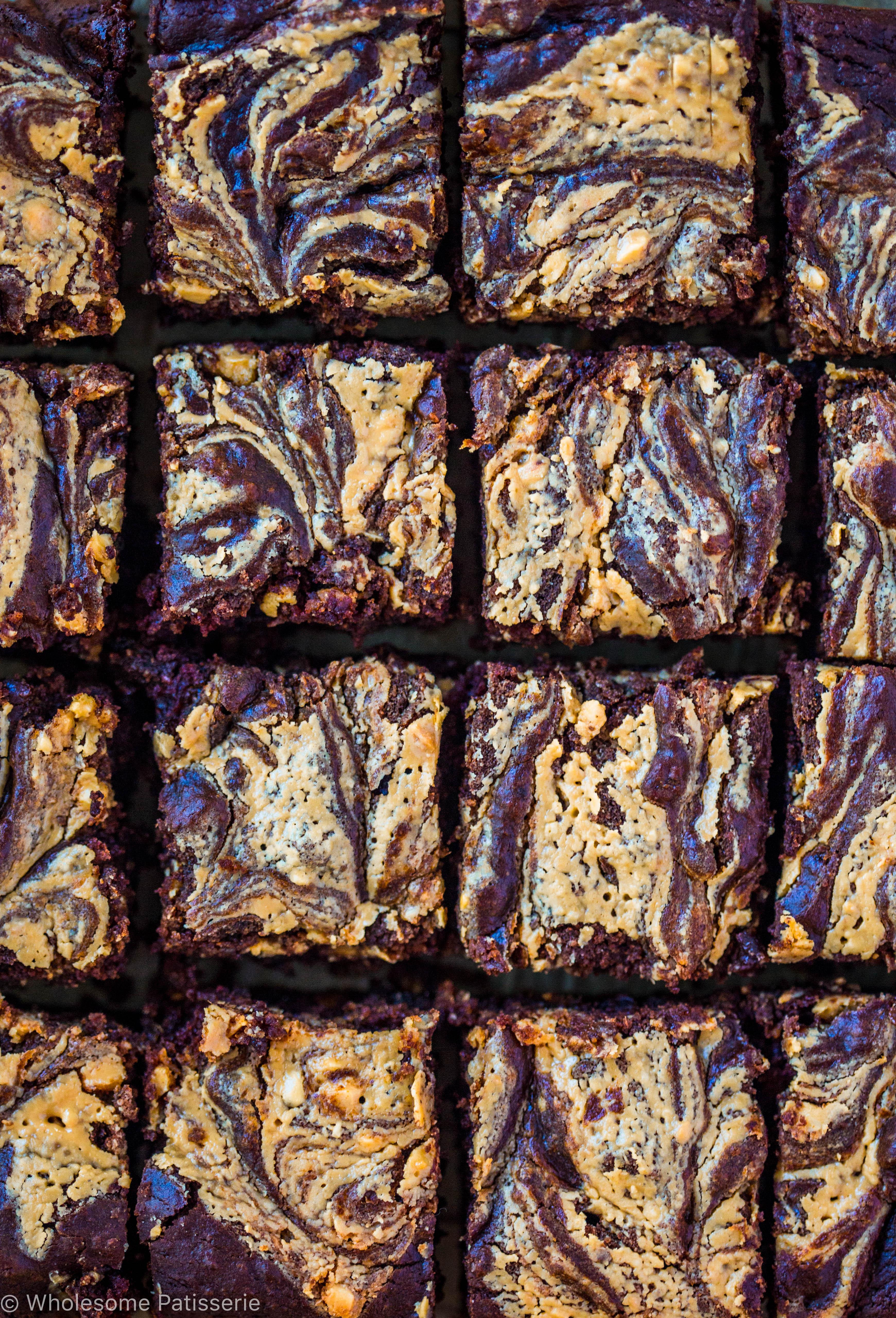 chocolate-peanut-butter-swirl-brownies-gluten-free-vegan-dairy-free-easy-delicious