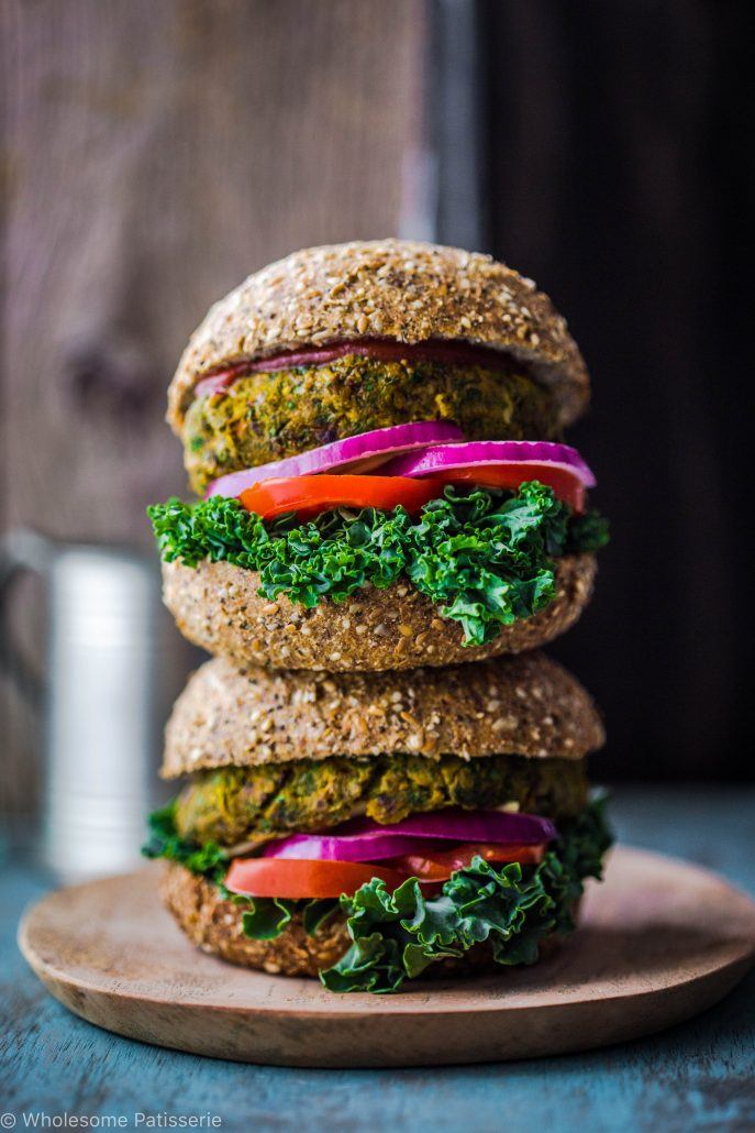 garden-veggie-burgers-vegan-gluten-free-delicious-vegetable-green-vegetarian-easy