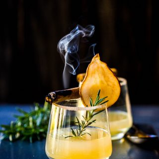 Pear + Lemon Fizz