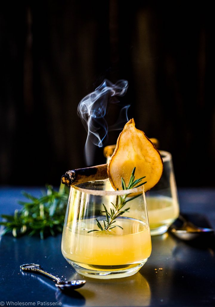 pear-lemon-fizz-cocktail-vodka-beverage-mocktail-kombucha-remedy-health-probiotic-pears
