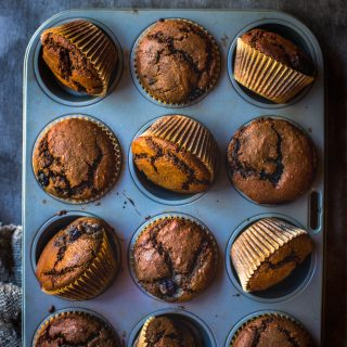 chocolate-blueberry-muffins-gluten-free-dairy-free-kids-snack-work-breakfast-easy-baking