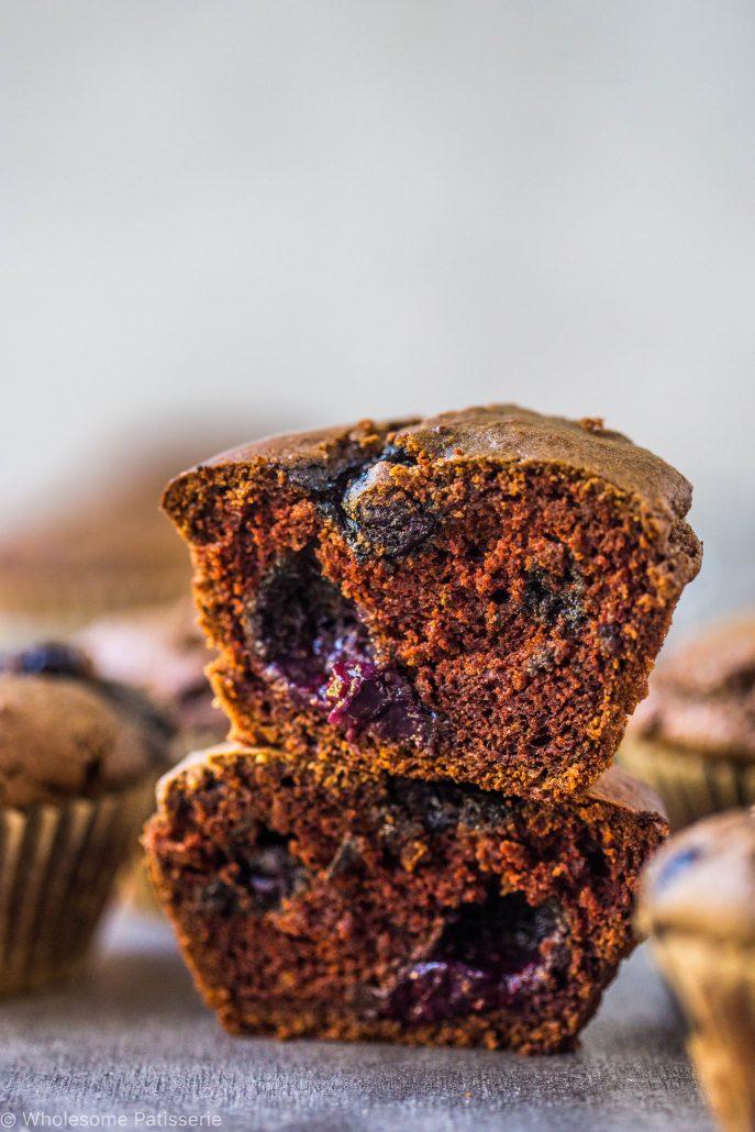 chocolate-blueberry-muffins-gluten-free-dairy-free-kids-snack-work-breakfast-easy-baking-healthy