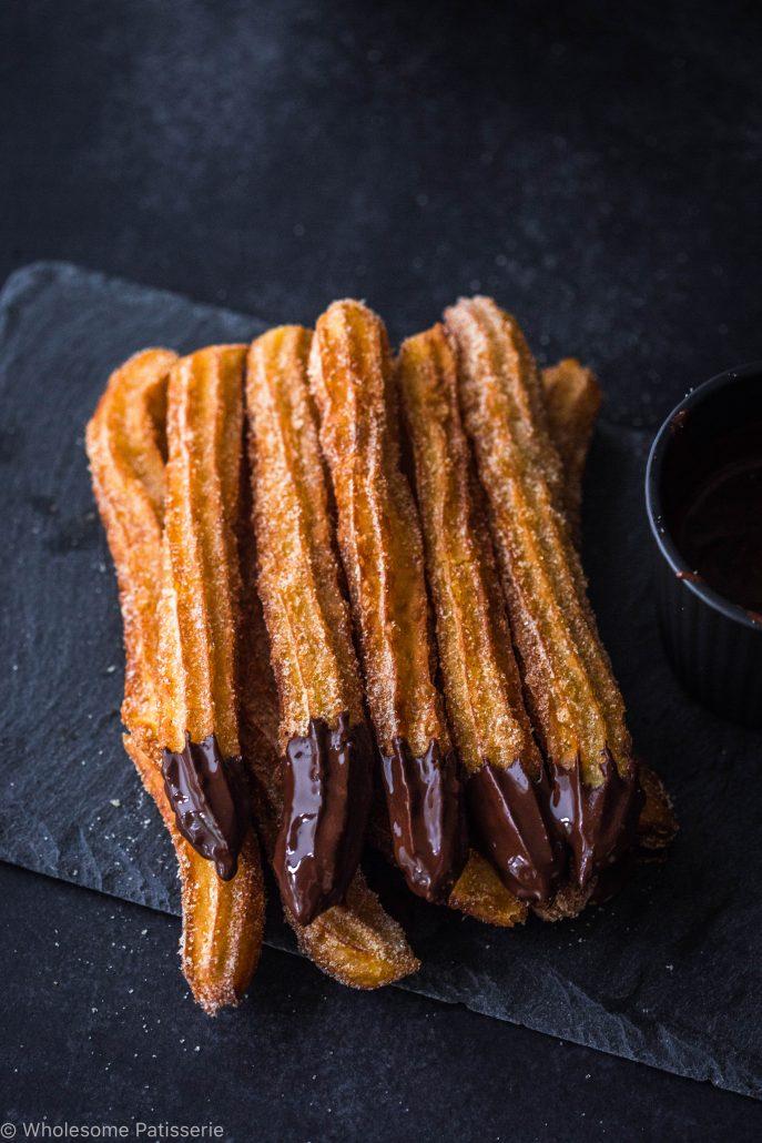 churros-cinnamon-sugar-churros-traditional-chocolate-churros copy 4