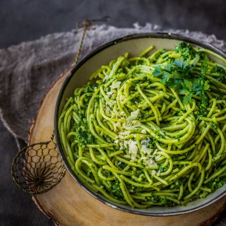 pesto-spaghetti-delicious-gluten-free-easy-nut-free-pesto-dinner-quick-vegetarian_