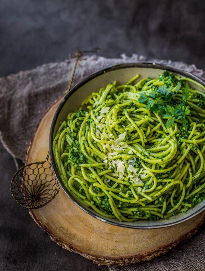Pesto Spaghetti