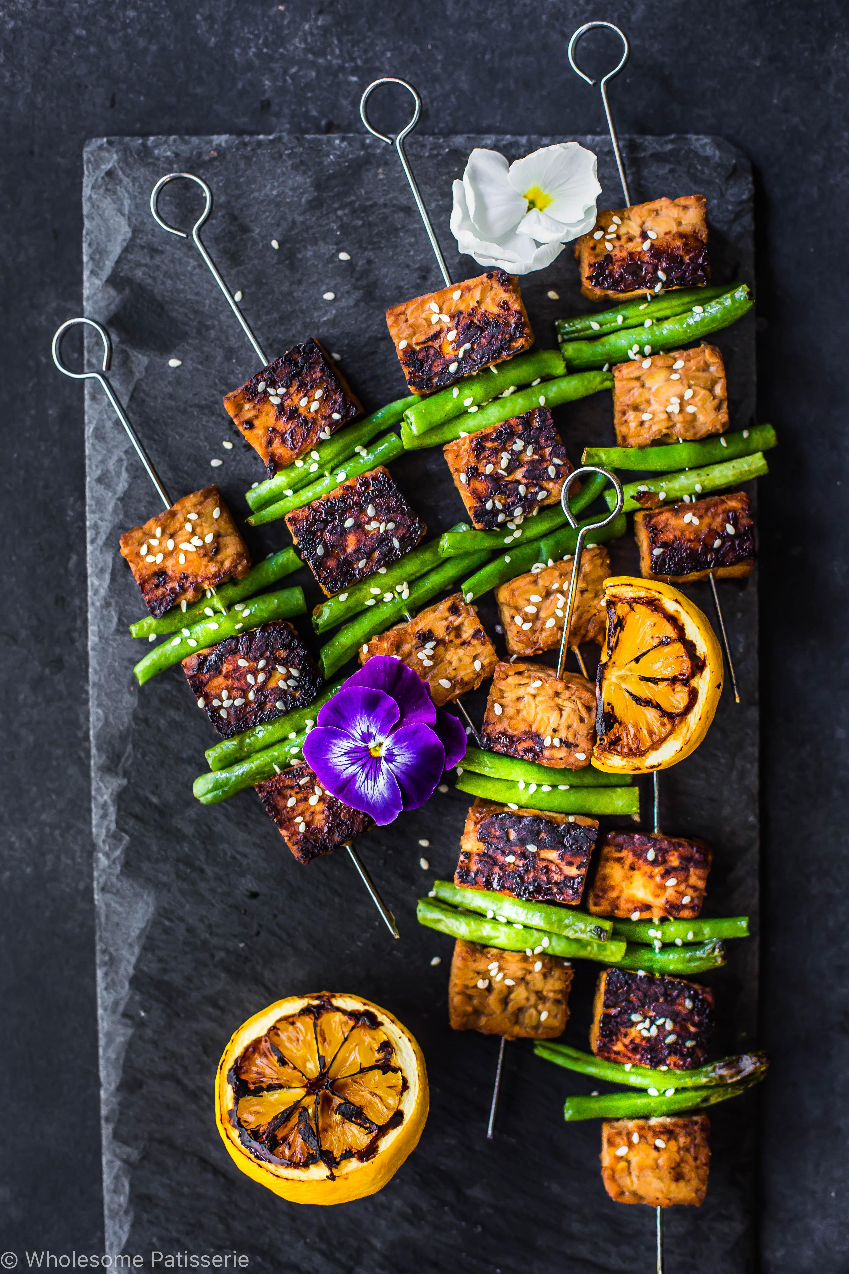 soy-tempeh-skewers-vegan-gluten-free-dinner-easy-marinade-healthy-family-light