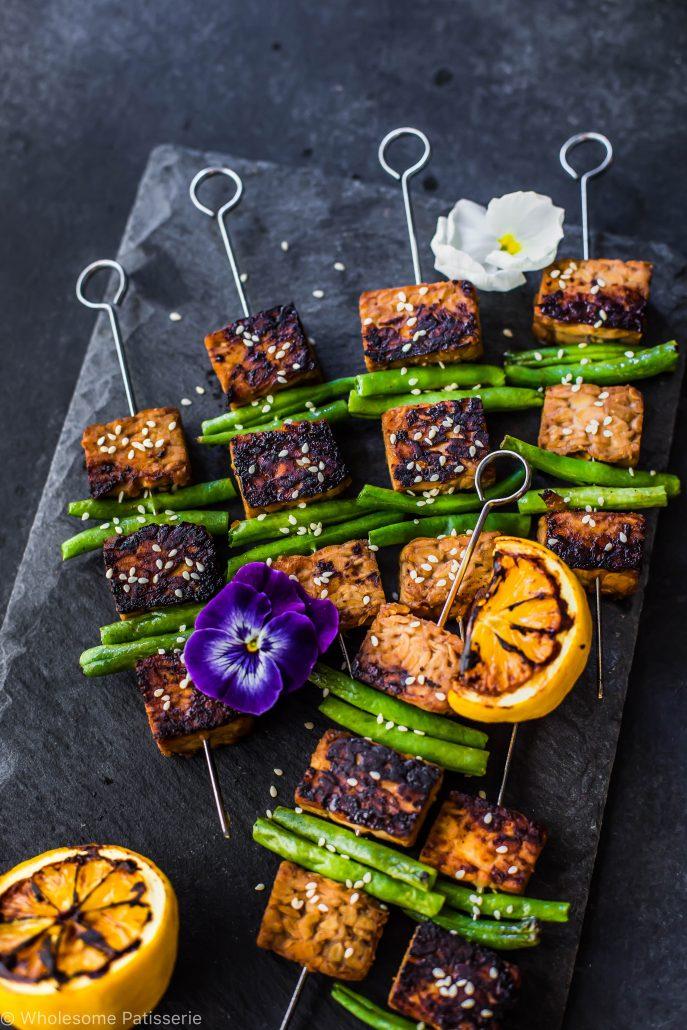 soy-tempeh-skewers-vegan-gluten-free-dinner-easy-marinade-healthy-family-light-cooking