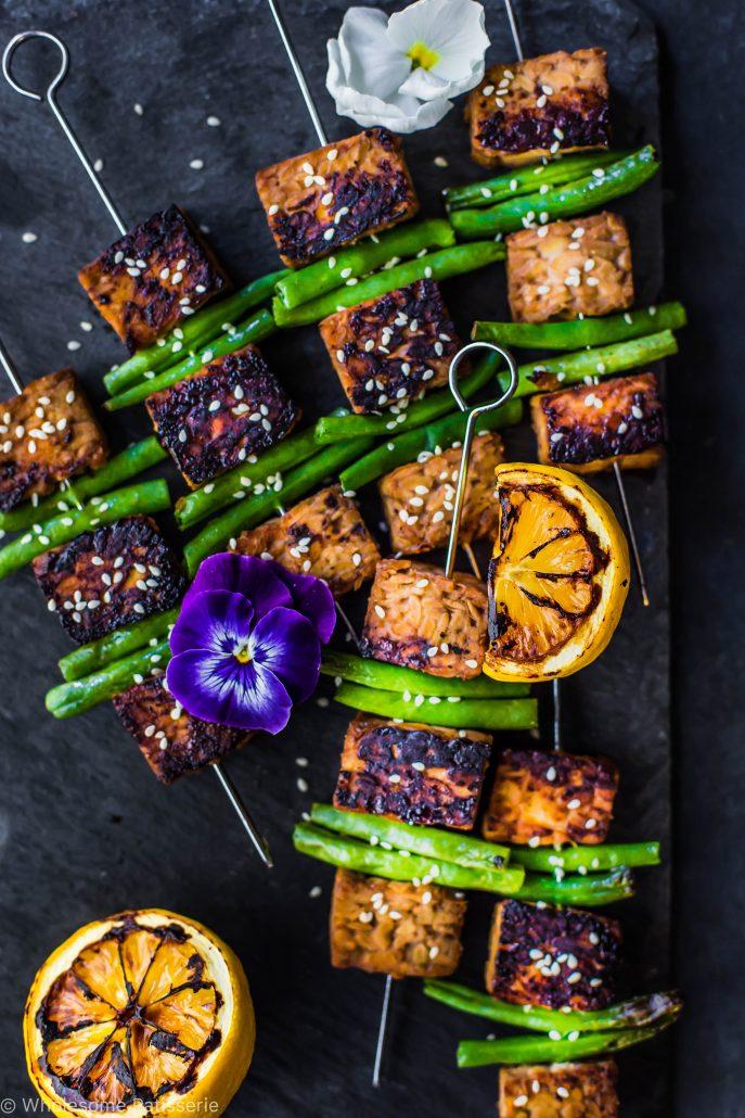 soy-tempeh-skewers-vegan-gluten-free-dinner-easy-marinade-healthy-family-light-vegan