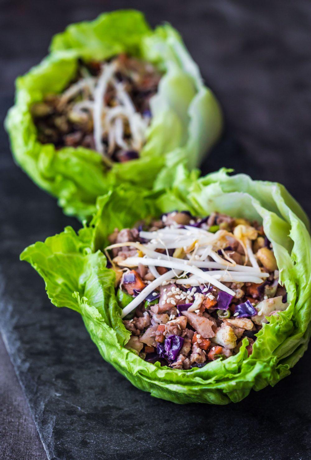 vegetable-lettuce-cups-vegan-san-choy-bow-vegetarian-gluten-free-entree-dinner-healthy-easy-under-30-minutes