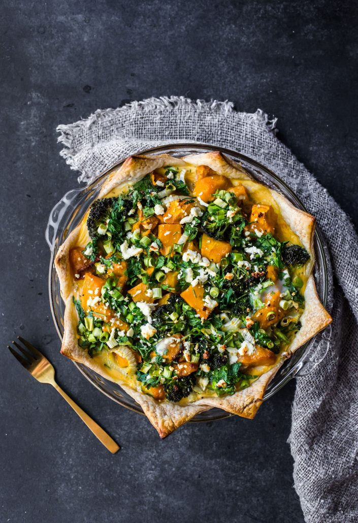 roasted-veggie-egg-tart-gluten-free-vegetarian-christmas-tart-baking-holidays-cooking-festive-vegetarian