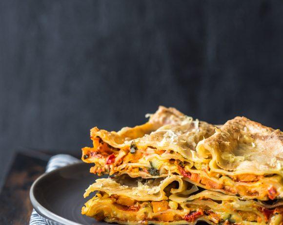 Vegetarian & Gluten Free Lasagne