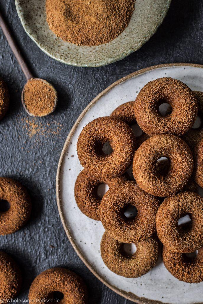 cinnamon-sugar-donuts-vegan-gluten-free-refined-sugar-free-baked-not-fried-easy