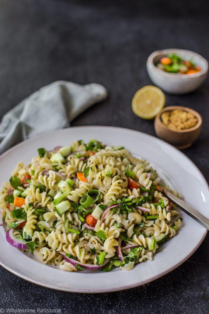 pasta-salad-easy-10-ingredients-vegan-vegetarian-gluten-free-dinner-summer-snack