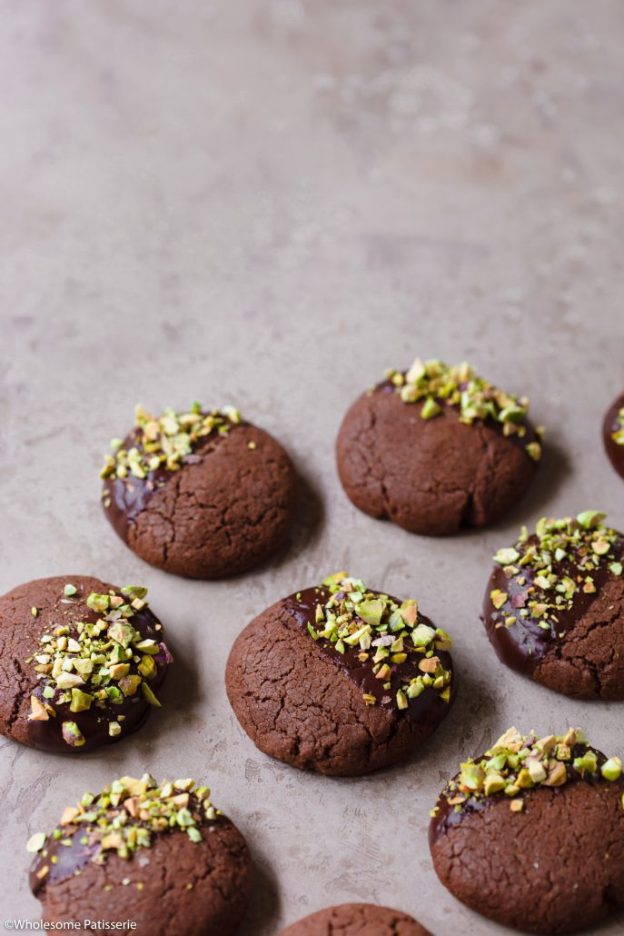 Chocolate-pistachio-cookies-gluten-free-easter-baking-easy-cookie-recipe-simple