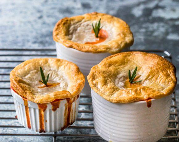 Tomato & Onion Pies