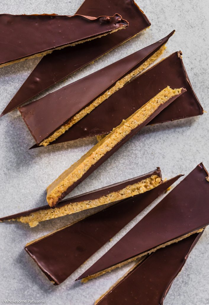 Chocolate-peanut-butter-crisp-bark-gluten-free-vegan-dairy-free-snack-under-10-ingredients-family