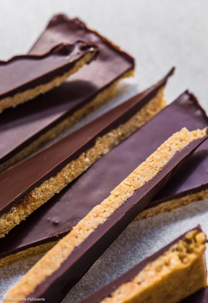 Chocolate-peanut-butter-crisp-bark-gluten-free-vegan-dairy-free-snack-under-10-ingredients-sweet