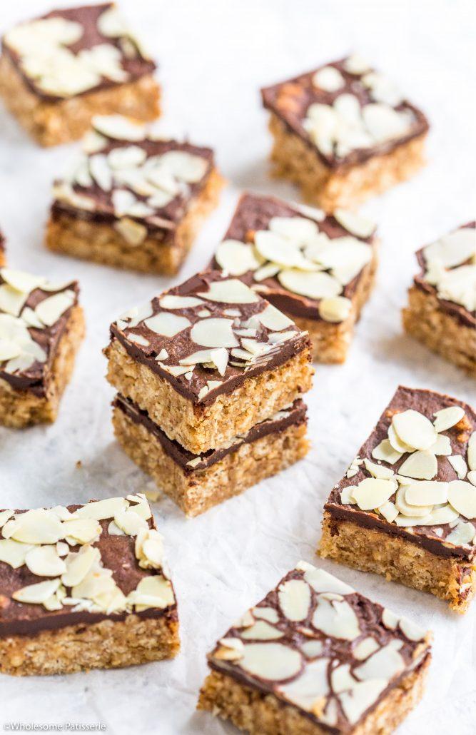 Almond-butter-crispy-chocolate-bars-gluten-free-vegan-no-bake-easy-delicious-6