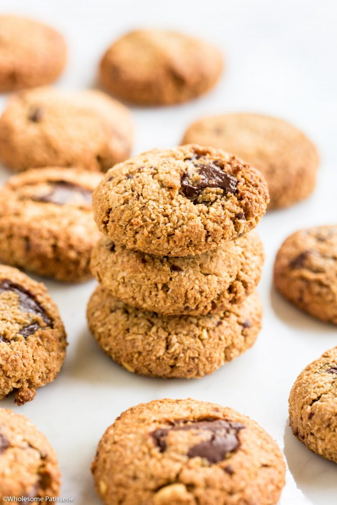 Cashew-chocolate-chunk-cookies-easy-1-bowl-5-ingredients-delicious-snack-healthy-3