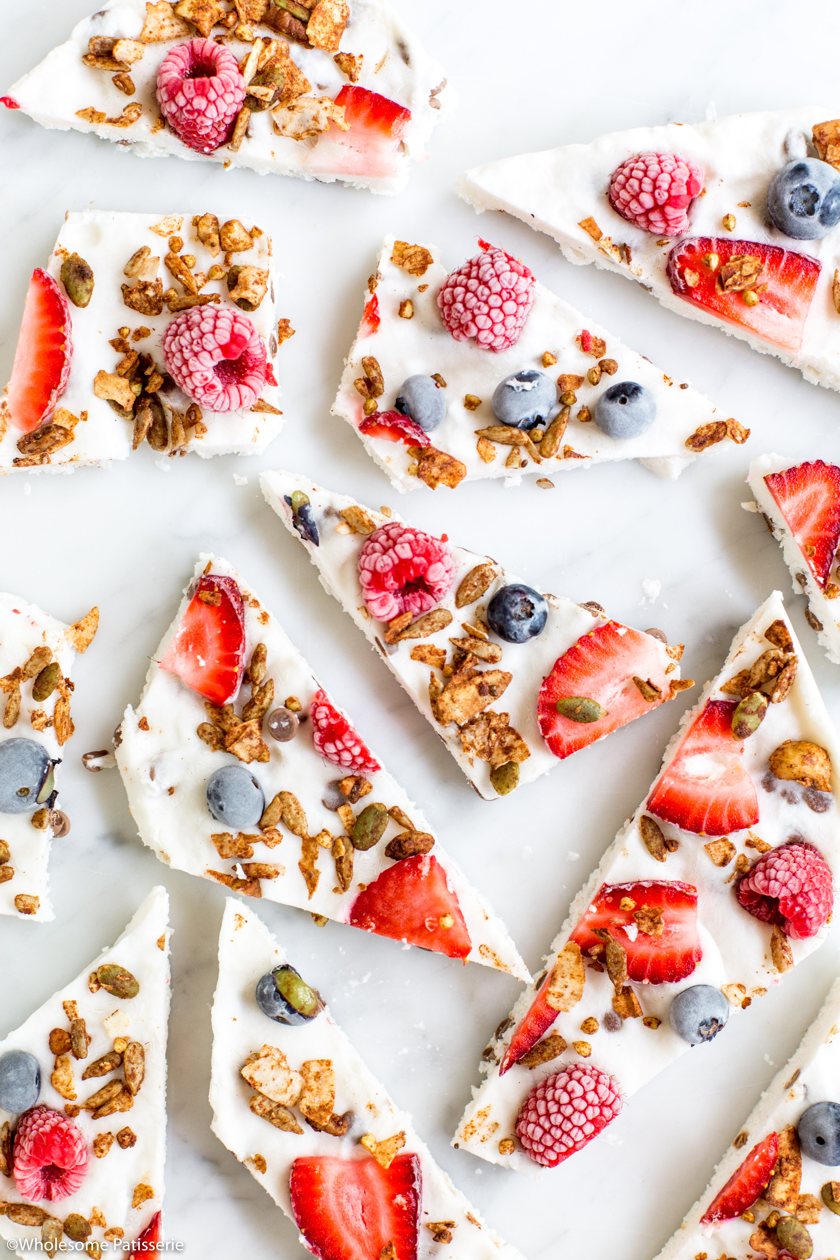 Frozen Coconut Yoghurt Bark