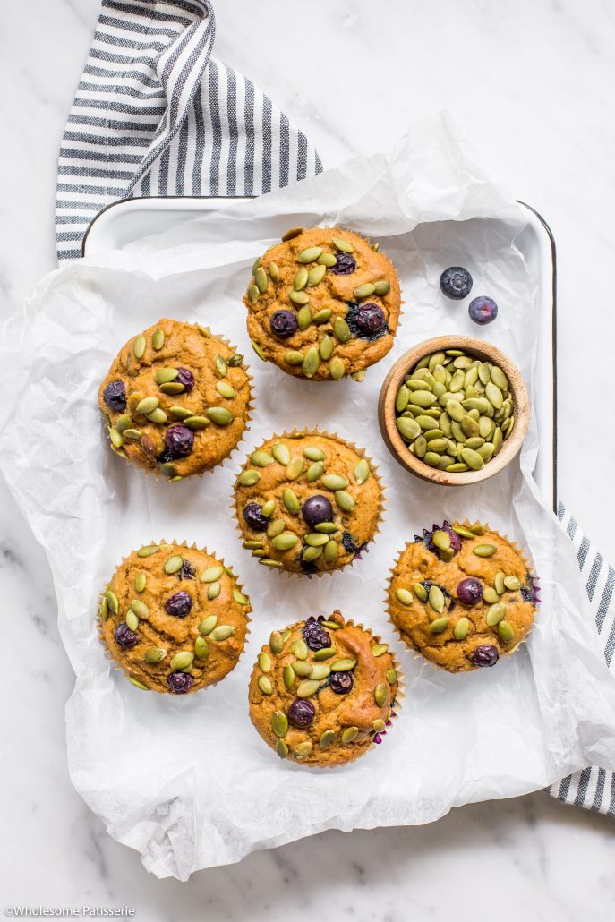 Pumpkin-blueberry-muffins-gluten-free-muffins-baking-easy-simple-quick-breakfast-muffins