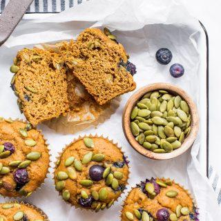 Pumpkin-blueberry-muffins-gluten-free-muffins-baking-easy-simple-quick-breakfast-muffins-savoury