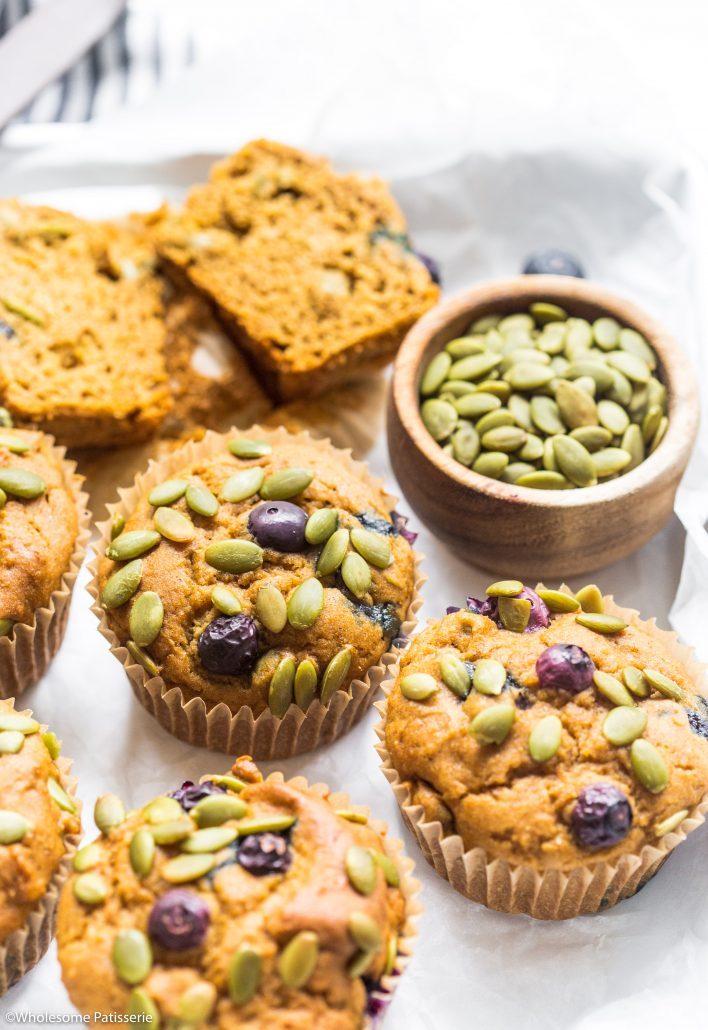 Pumpkin-blueberry-muffins-gluten-free-muffins-baking-easy-simple-quick-breakfast-muffins-savoury
